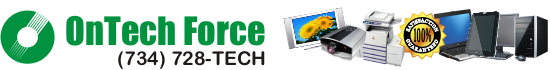 ONTECH FORCE TV Repair  (734) 728-8324
